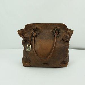 Frye Brown Leather Shoulder Bag
